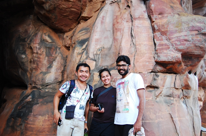 I ran into Animesh and Vipasha on the way to the rock shelters of Bhimbetka. The three of us rode on a bike, found out the stories of the 20,000-year old paintings together, and shared travel stories with each other with so much gusto. Being in the company of this couple seemingly made the harsh heat in Bhopal more tolerable. Your friendship was indeed a birthday gift.